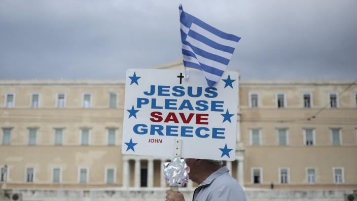 Demonstrationen in Griechenland