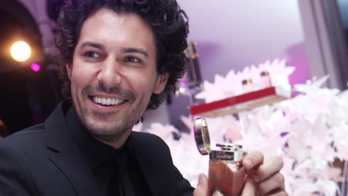 Boris Entrup bei einer Duft-Vernissage  von Cartier in München, 2011