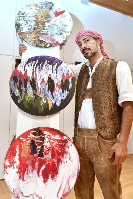 Tutzing, Pol.Akademie Ausstellung Darwish