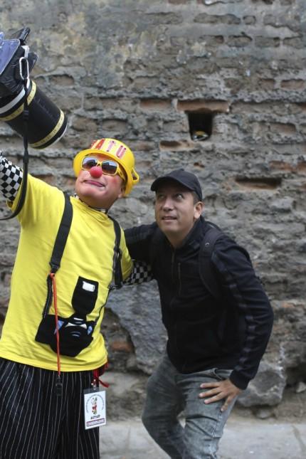 Tag des Clowns in Peru