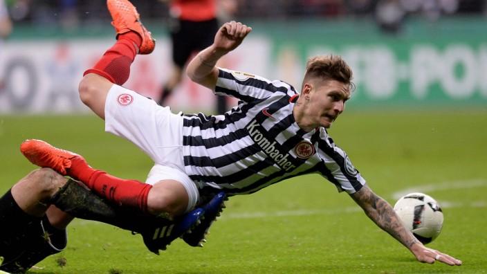 Fußball DFB Pokal Viertelfinale Eintracht Frankfurt Arminia Bielefeld am 28 02 2017 in der Commerz
