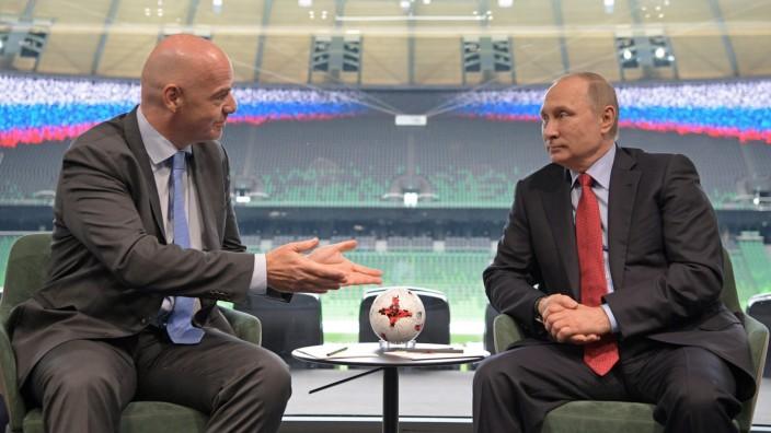 Confed-Cup-Vorbereitungen in Russland