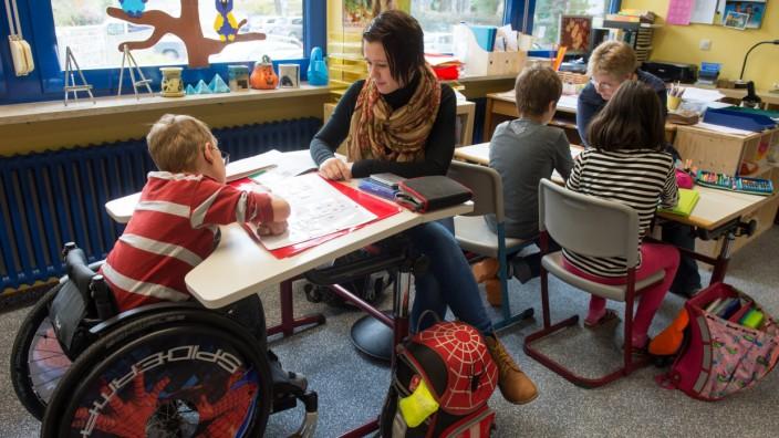 Inklusion behinderter Schüler