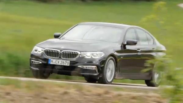 Der neue BMW 5er.