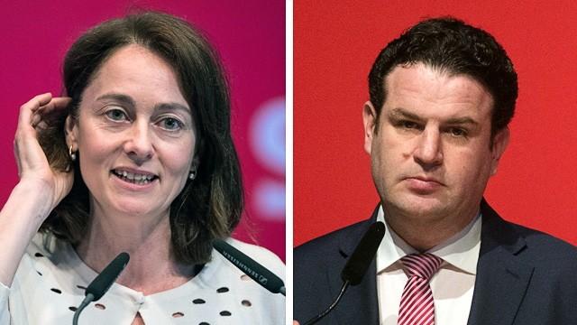 Rochade: Katarina Barley wird Bundesfamilienministerin, Hubertus Heil übernimmt das Amt des SPD-Generalsekretärs