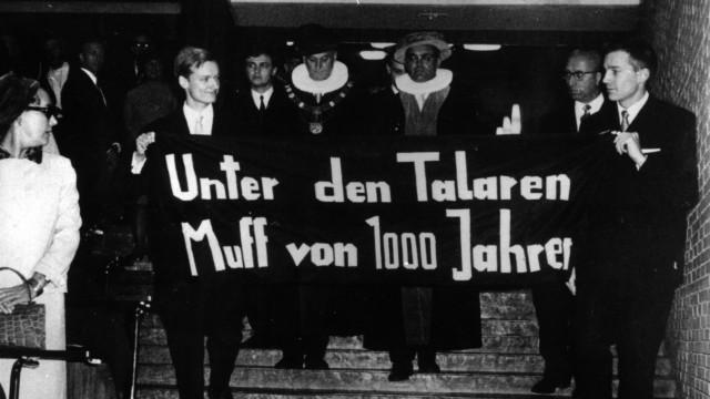 Studentenführer machte Partei- und Uni-Karriere - Detlev Albers tot