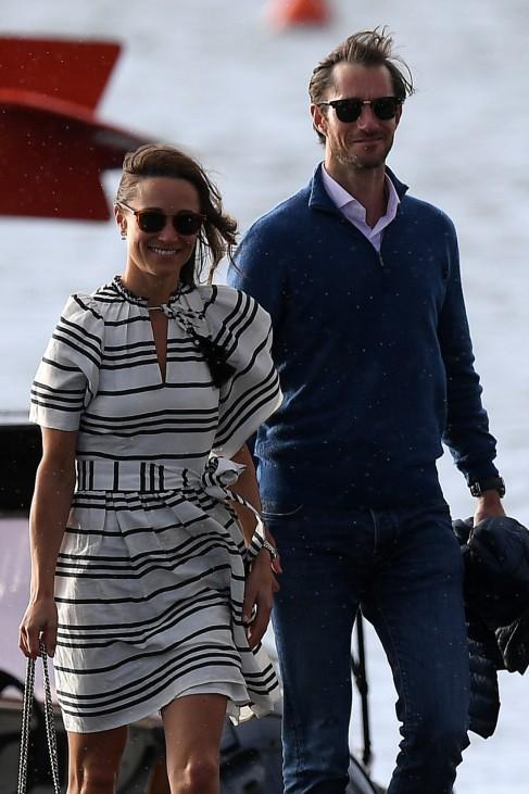 Pippa Middleton und James Matthews - Flitterwochen