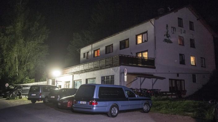 Zwei Tote in Asylunterkunft