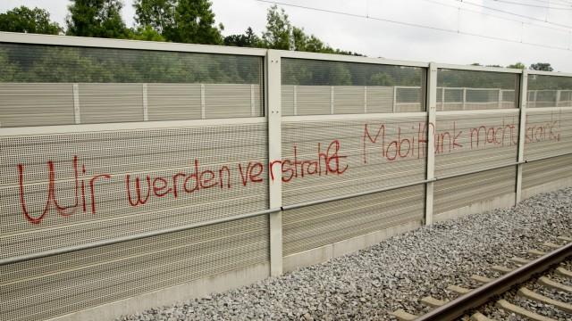 Mammendorf: Anschlag auf Mobilfunk-Mast