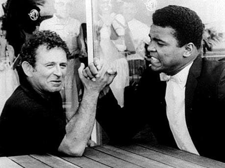 Norman Mailer und Muhammad Ali 1965