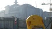 Geigerzähler am Unglücksreaktor in Tschernobyl, AFP