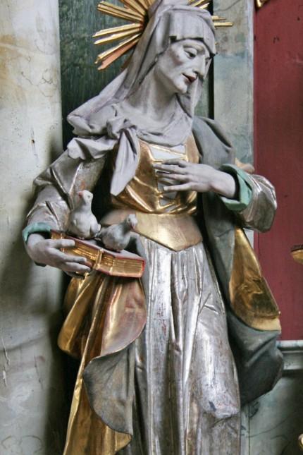 Heilige Anna , Heiligen-Ausstellung im Pasinger Bürgerhaus