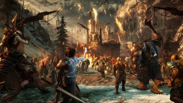 screenshot middle earth shadow of war