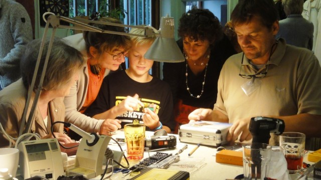 Transition Town Grafing Repair Cafe und Mitfahrbankerl