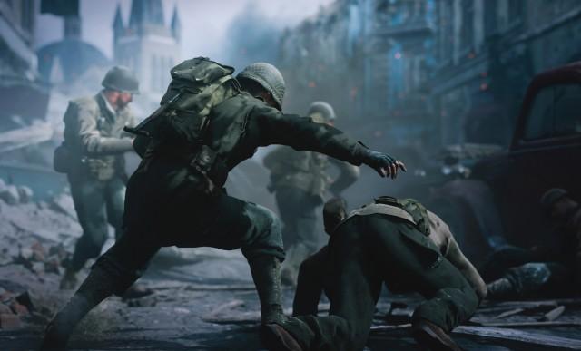 Screenshot Call of Duty WWII