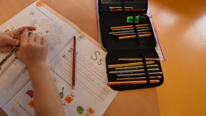 Hausaufgabenbetreuung im Zentralhort in München, 2015