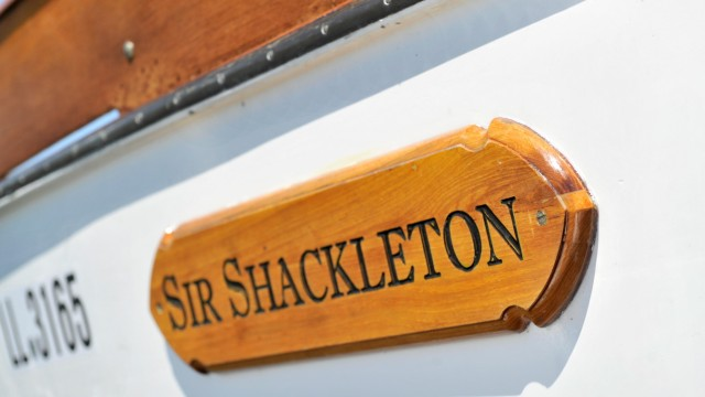 St Alban: Zweimastersegelschiff Sir Shackleton