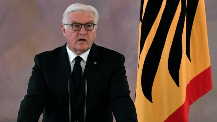 Türkei-Konflikt: Bundespräsident Steinmeier unterstützt eine härtere Linie gegenüber der Türkei.