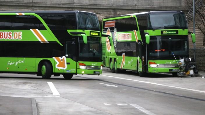 Friedrichshafen: München, 22.1.2015 / Foto: Robert Haas Reportage ZOB Thema: Fernbusse / Busreisen / Linienbetrieb auf Fernstrecken 'Mein Fernbus'