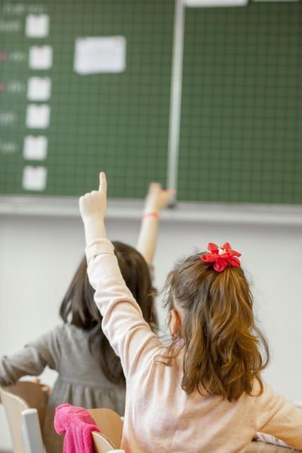 Übergangsklasse in einer Grundschule in München, 2016