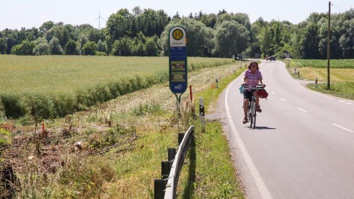Radweg nach Ottershausen