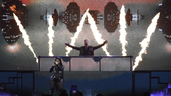 Nicki Minaj, David Guetta