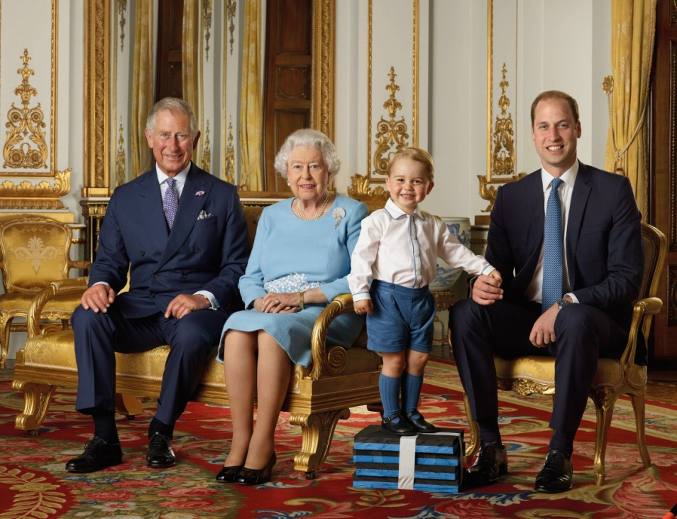 Portrait Released For The Queen's 90th Birthday