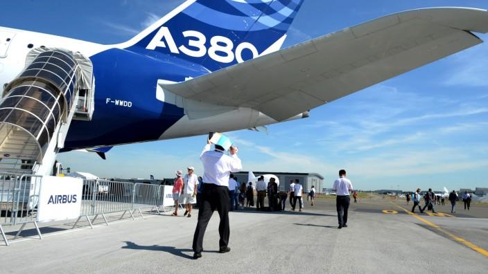 Der Airbus A 380 Plus