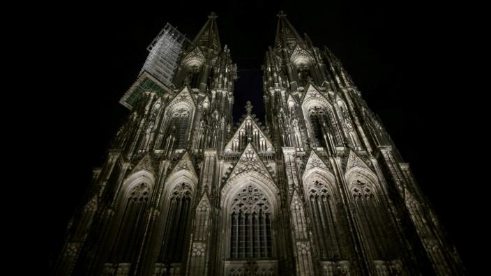 Nachts im Kölner Dom