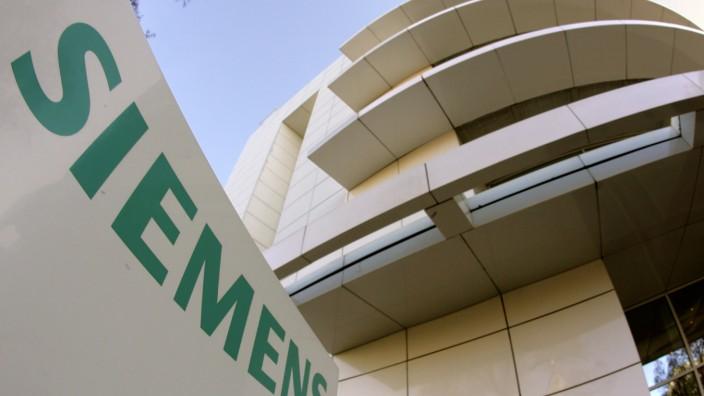 Siemens Firmenlogo