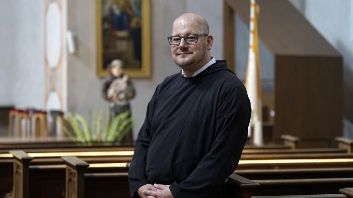 """Katholische Kirche: """"Wir wollen niemandem seine Kirche wegnehmen"""", versichert Kapuzinerpater Stefan Maria Huppertz. Er weiß, dass seine Idee nicht jedem gefallen wird."""