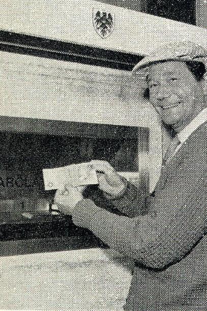 Erster Geldautomat in Enflied