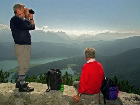 Bergtouren auf die Schnelle