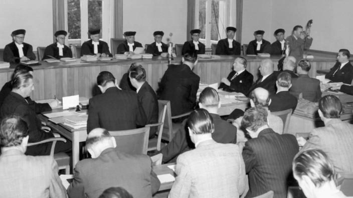 60 Jahre Bundesrepublik - Südwestklage vor dem Bundesverfassungsgericht