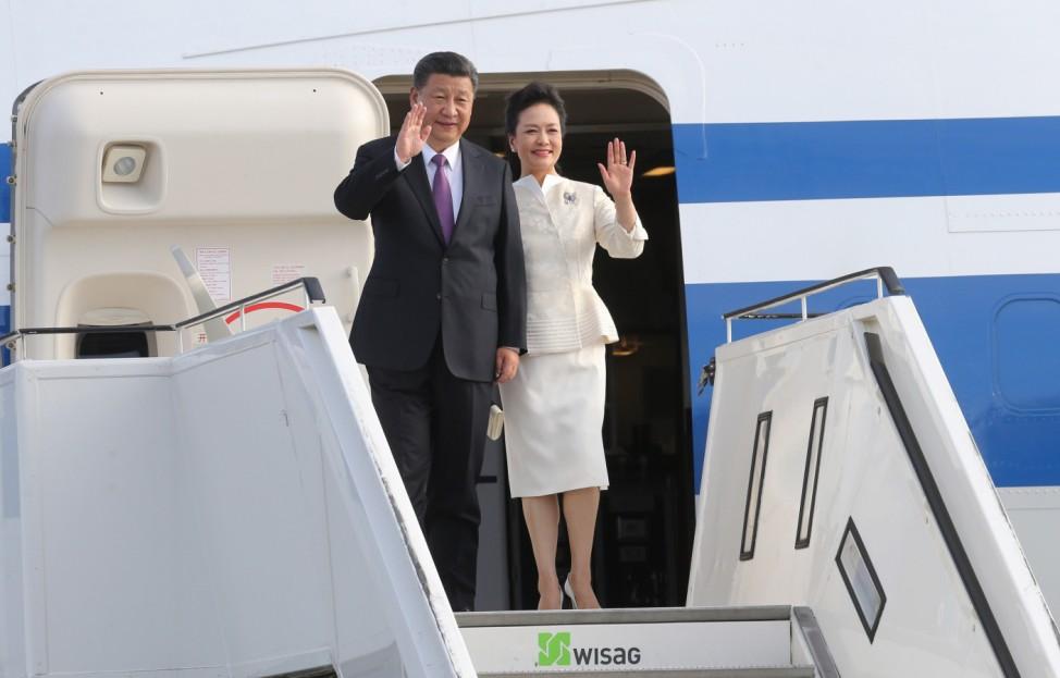 G20-Gipfel  - Ankunft Chinas Staatspräsident Jinping