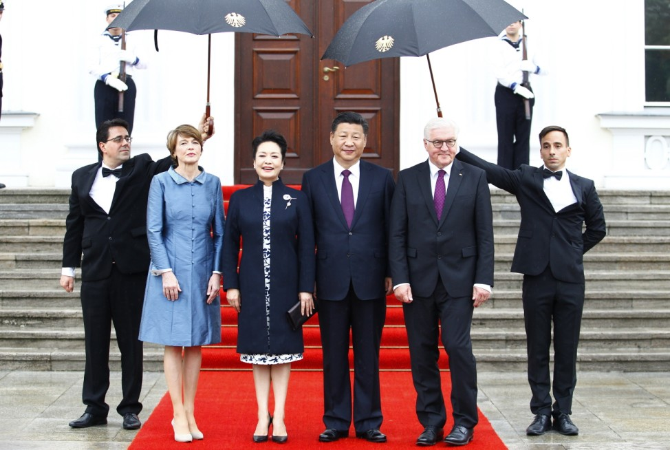 Xi Jinping Visits Berlin Prior To G20 Summit