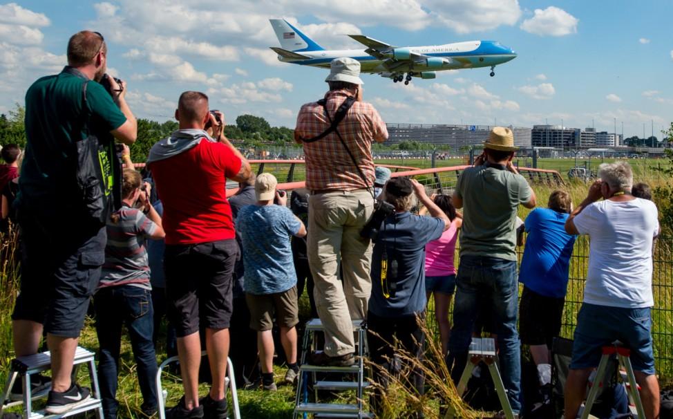 G20-Gipfel · Ankunft Gäste