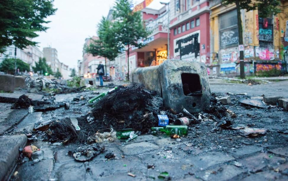 G20-Gipfel - Schäden im Schanzenviertel