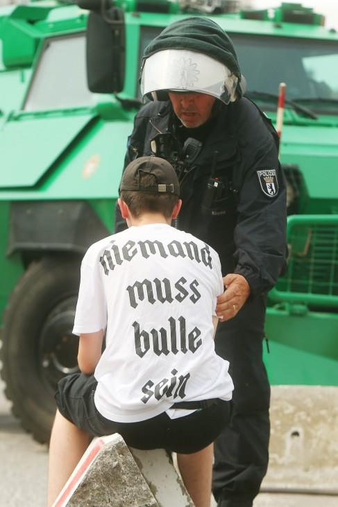 G20-Gipfel - Proteste