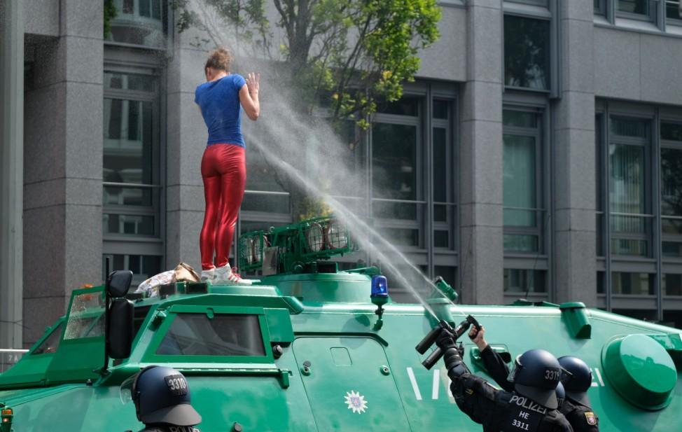 G20 Gipfel - Demonstrationen