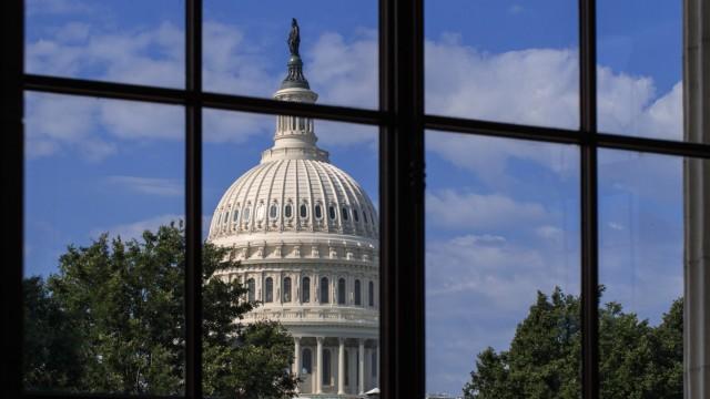 Neues Schulfach: Das Kapitol in Washington ist der Sitz des Kongresses und soll die Verbindung der USA zum antiken Rom betonen.