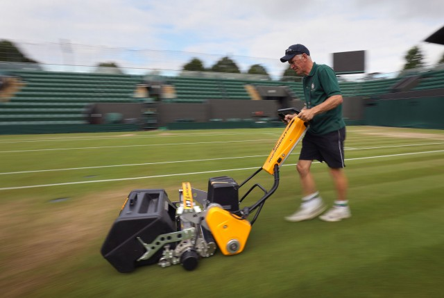 Wimbledon 2017 - Day Six - The All England Lawn Tennis and Croque
