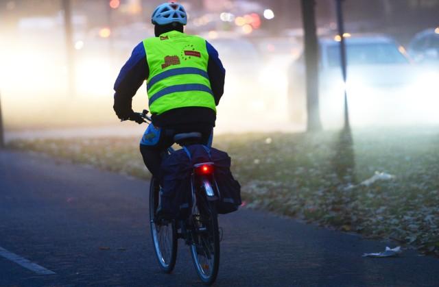 Radfahren bei Dunkelheit