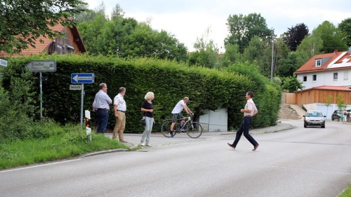 Bauausschuß untersucht Radwegführung