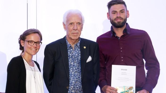 München: TALENTIADE im SZ-Hochhaus / Preis-Verleihung / Auszeichnung