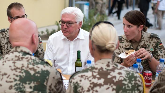 Bundespräsident Steinmeier in Afghanistan