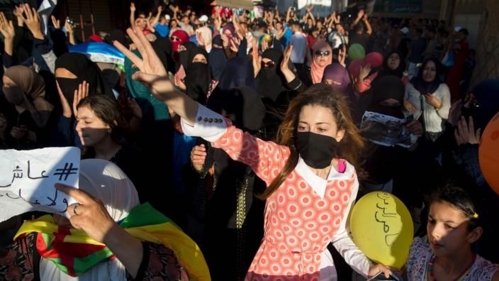 Proteste: In ganz Marokko haben sich Menschen mit der Protestbewegung solidarisiert.