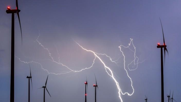 Weniger Blitze in Brandenburg