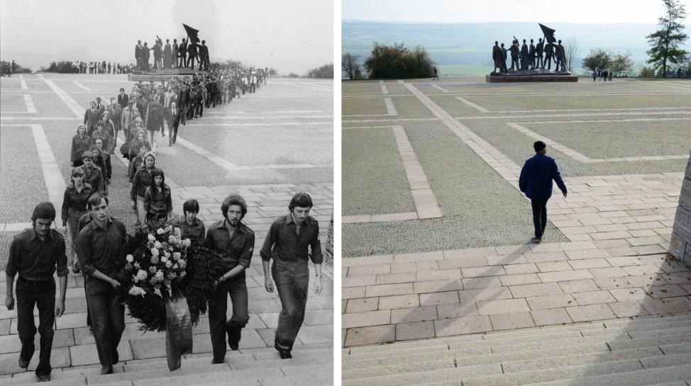 Weimar früher-heute
