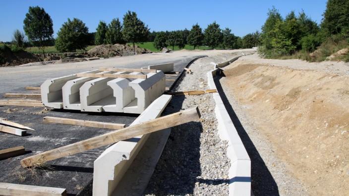 Bau der Weßlinger Umgehungsstraße